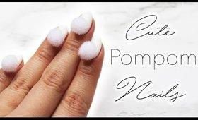 Minimalistic Monday No.23   Pompom Nails ♡