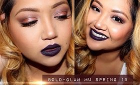 Bold GLAM Makeup Tutorial | Spring 2015