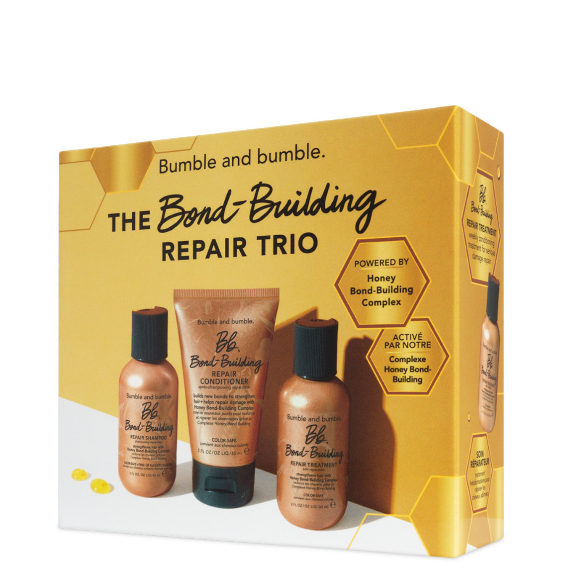 Bumble and bumble. Bb. Bond-Building Repair Trio alternative view 1 - product swatch.