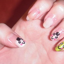 Sushi nails ... first try :)