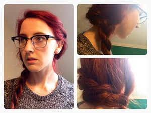 Let it go has been stuck in my head for days now so I decided to do my first hair picture inspired by it
