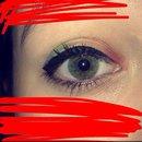 Rainbow eyeshadow by Zoe