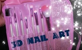 Makeup Brushes Review (3DNailArt)