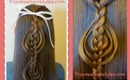 Cookie Cutter Braid Tutorial, Half Ponytail Hairstyle
