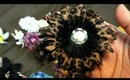 Hair Flowers Collection TAG - For Spring, Summer and Year Round with a DIY Hair Flower Clip Holder