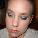 Blue&Green Messy Smokey Eye