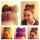 bows for Long hair<3