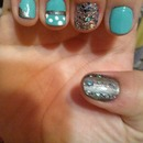 first time nail art :)