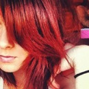 my bright red hair!