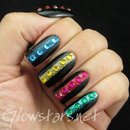 Black & White Series Elegant Nail Art Show New 089
