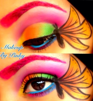 Butterfly inspired