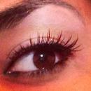 eye makeup eyes arab brown eyes false lashes ?