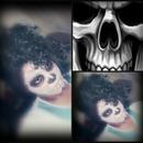 Skulls makeup