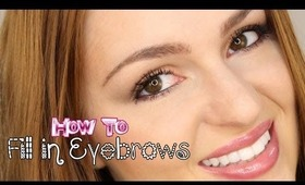 Tutorial: How To Fill in Eyebrows | 2 Different Ways!