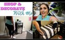 SHOP & DECORATE WITH ME   ROSS, MARSHALLS, TARGET, & WALMART