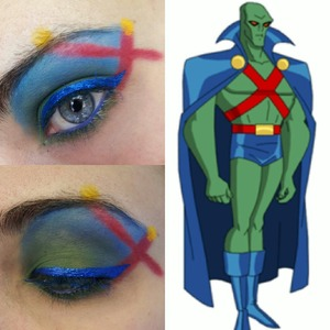 my fave look from my Justice League makeup series :)