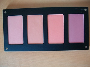 My Inglot Blush Palette  For the colour numbers and to see swatches and a review please visit my blog:  www.mazmakeup.blogspot.com