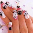 Feeling the love in nail art