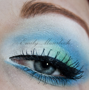 Seafoam Using Sugarpill colors: Tako Afterparty Midori
