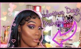 Valentines Day Makeup Look   Makeup For Black women