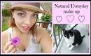 Natural/Everyday make up tutorial!!
