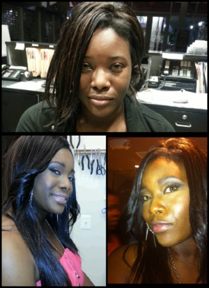 makeup by me :) email me @ shermintasneem@gmail.com for info. I do events, weddings, etc.