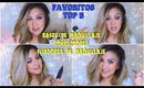 FAVORITOS * BASES * CORRECTORES * FIJADORES  de Maquillaje / Favorites makeup | auroramakeup