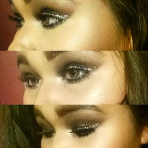 My makeup isn't at its best yet, I am still trying and practicing! :)