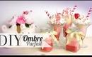 DIY Valentine's Ombre Parfait Candles