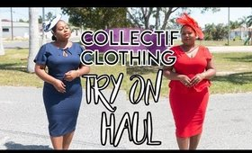 Collectif Clothing Try on Haul | Plus Size