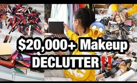 Decluttering $20,000+ worth of Makeup!