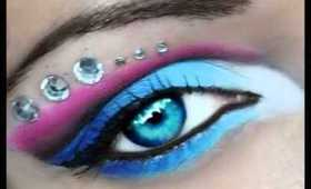 Blue Pink Tutorial on New channel youtube/laydpynkmua