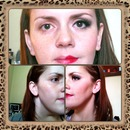 A little makeup - not such a little difference!