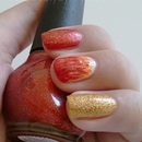 Fire NOTD for IG Challenge