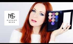 Makeup Geek Foiled Eyeshadows Review & Swatches