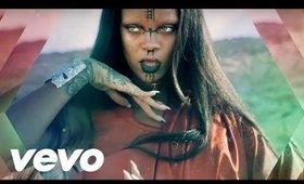 Rihanna - Sledgehammer Music Video inspired Makeup Tutorial (Star Trek Beyond)