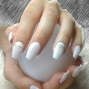 Love White nails