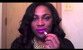 Danadane84's Obsession: Purple Lips + Lip Swatches