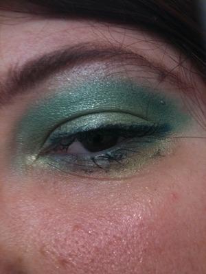 Minty sea of green