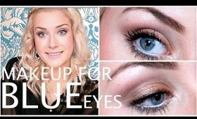 Makeup For Blue Eyes! ♡   rpiercemakeup
