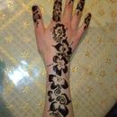 henna tattoo i <3  it