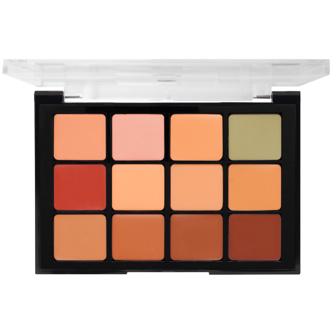 Viseart Corrector Contour Camouflage HD Palette 01 product swatch.
