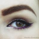 Black And Purple Liner