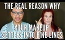 The Real Reason Why Your Makeup Is Settling Into Fine Lines - mathias4makeup
