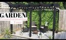 NEW BUILD GARDEN TRANSFORMATION UK | DIY PERGOLA & GARDEN TOUR