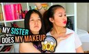 My Sister Does My Makeup?! | Tag