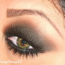 Classic Level 3 Smokey Eye for Green Eyes