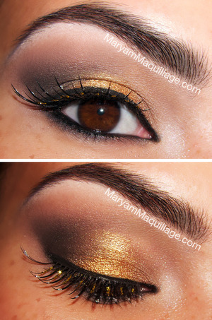 Art deco inspired eye makeup for my Modern Flapper look: http://www.maryammaquillage.com/2012/07/the-modern-flapper.html