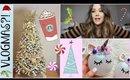 Decorating for Christmas, PR Unboxing, DIY Ornaments | VLOGMAS 2017
