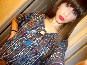 when i used to have bangs